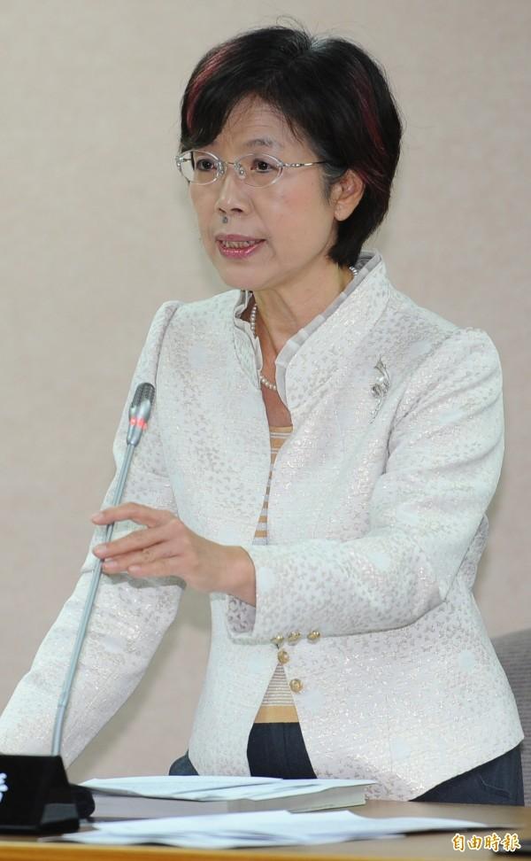 民進黨立委尤美女表示,希望台灣的大法官也能以憲法為念,而非只看民調,在不遠的未來寫下屬於台灣的性別平等新頁。(資料照,記者張嘉明攝)