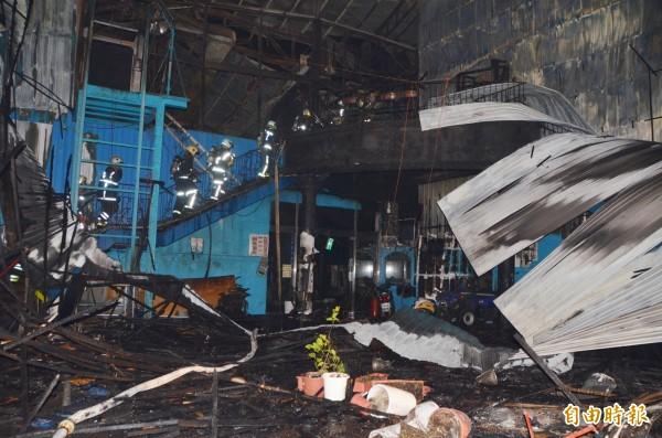 今年1月桃園新屋保齡球大火後,市長鄭文燦宣布發放危險職務加成。(資料照,記者鄭淑婷攝)