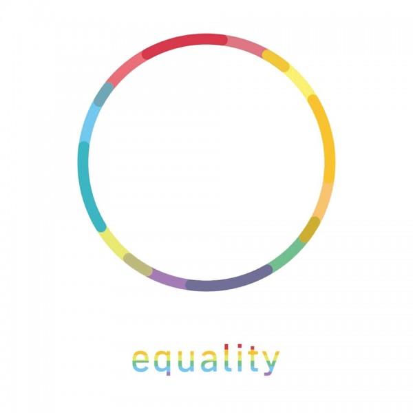 美國最高法院裁定同性婚姻全面合法化,民進黨2016總統大選參選人蔡英文今天也在臉書上將原本競選主視覺的光圈變為彩色,響應這具有歷史性意義的一天。(圖擷自蔡英文臉書專頁)