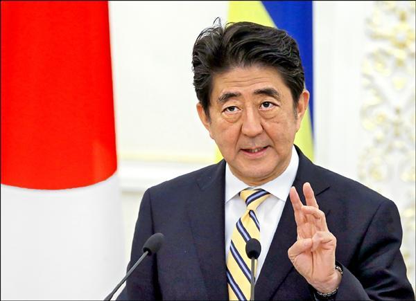 日本首相安倍晉三(歐新社檔案照)