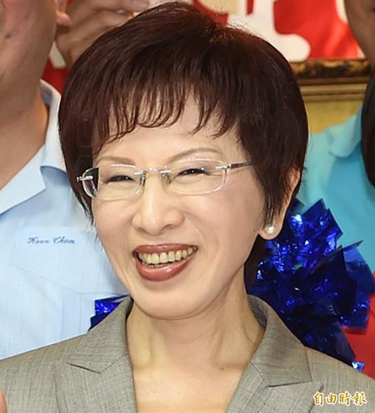 國民黨準總統參選人洪秀柱。(資料照,記者廖振輝攝)