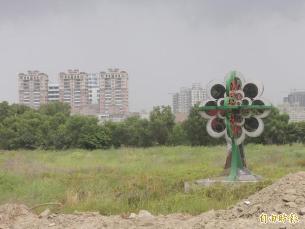 台南小巨蛋案轉折,將另覓合適地點重啟規劃。(記者洪瑞琴攝)