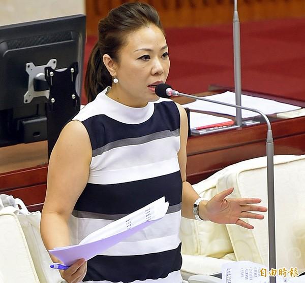 台北市議員李彥秀。(資料照,記者方賓照攝)