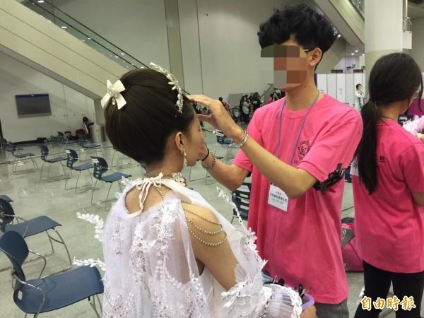 劉致葦參加韓國設計比賽的畫面。(資料照,家屬提供)
