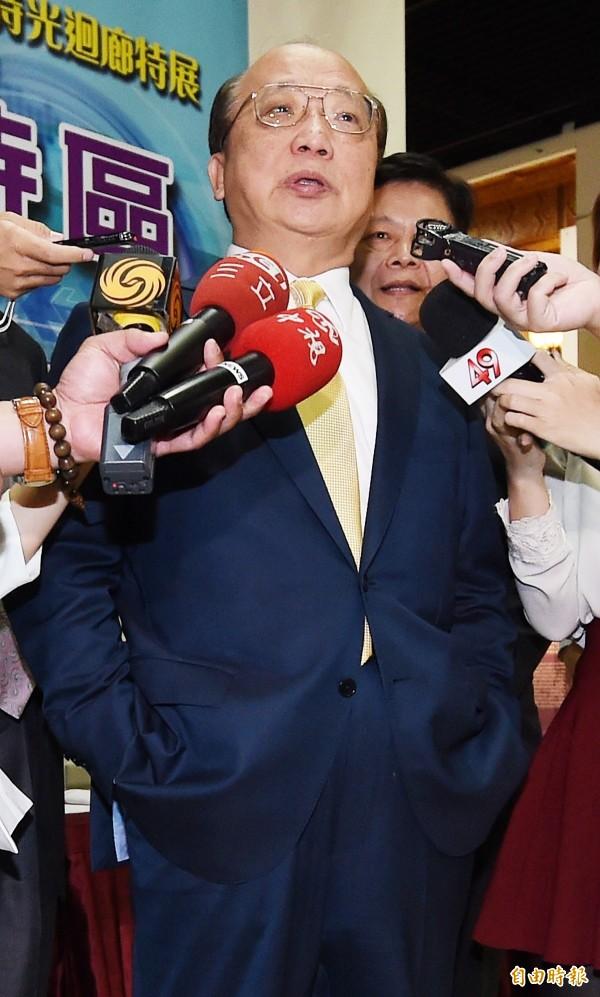 前台中市長胡志強。(資料照,記者朱沛雄攝)