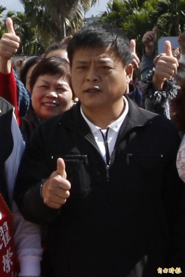遭到羈押的國民黨籍縣議員王志豐。(記者邱芷柔攝)
