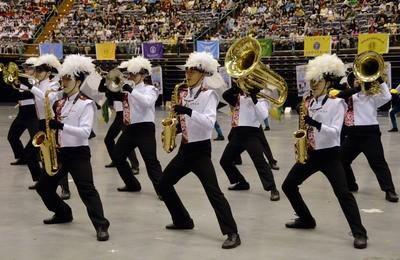 建中樂旗隊將舉行「異鄉人」成果發表會,更將赴美於美國職棒大聯盟賽前演奏美國國歌。(中央社)