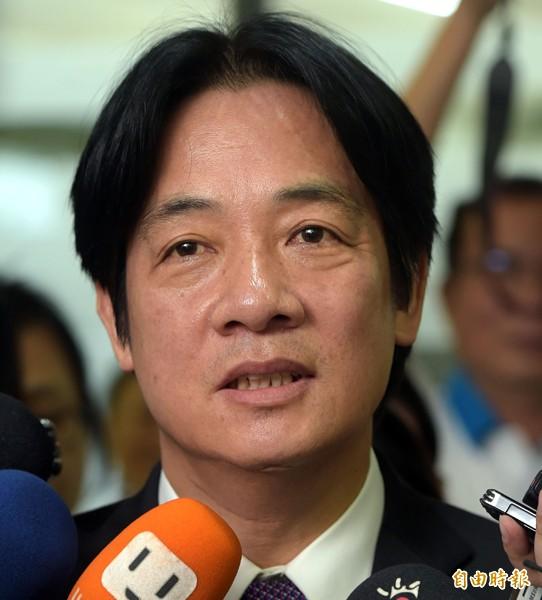 台南市長賴清德。(記者王敏為攝)