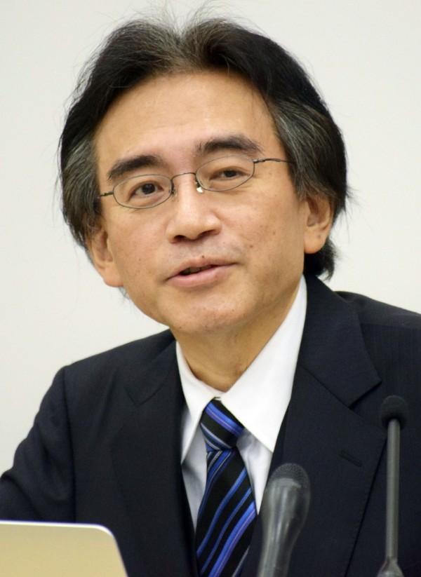 任天堂(Nintendo)公司社長岩田聰在上週六(11日)因膽管癌逝世,享年55歲。(法新社)