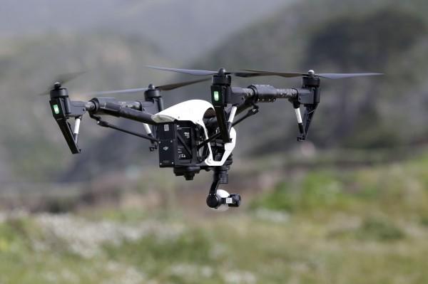小型無人機近期在全球風行。(資料照,美聯社)
