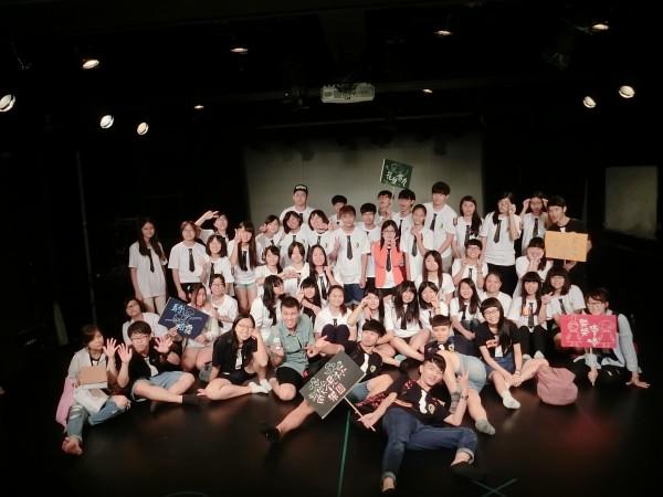 台南大學魔法黑盒子戲劇營結合哈利波特魔法學院主題。(圖由台南大學提供)