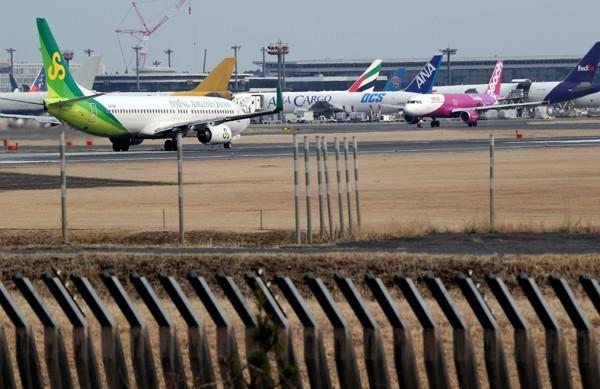 成田國際機場 。(美聯社資料照)