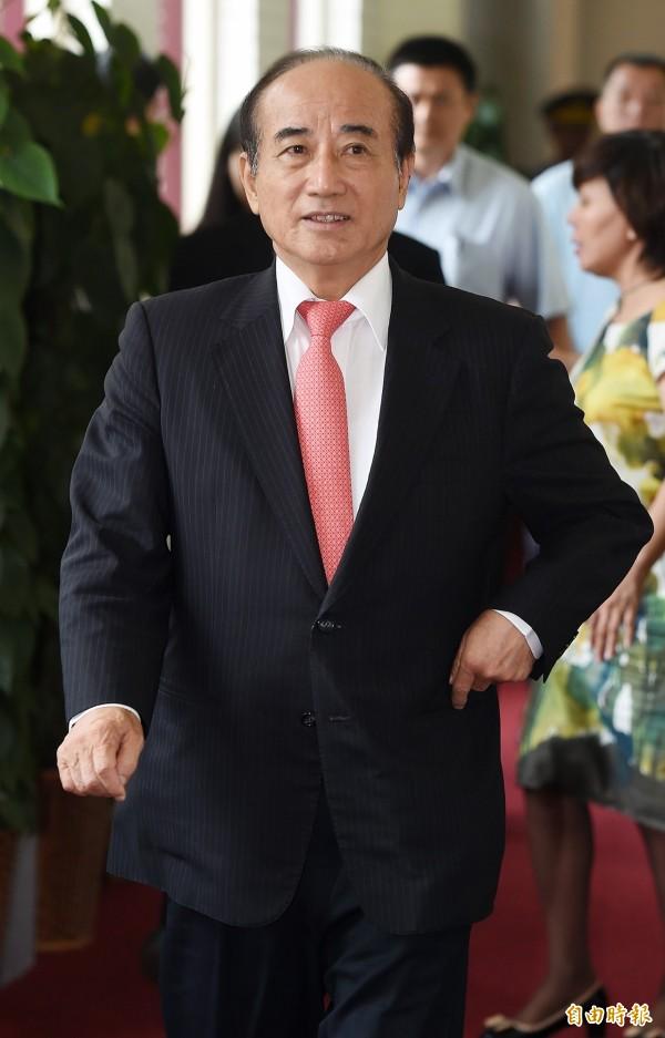 針對洪秀柱打算邀請他擔任競選總部主委,王金平今上午直接表示,希望洪不要為難他,並稱「為難我就是為難整個立法院」。(記者廖振輝攝)