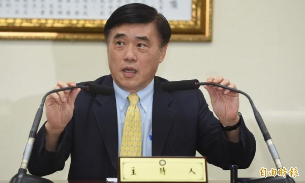 國民黨副主席郝龍斌有意空降基隆市參選立委,引發基層反彈。(資料照,記者劉信德攝)