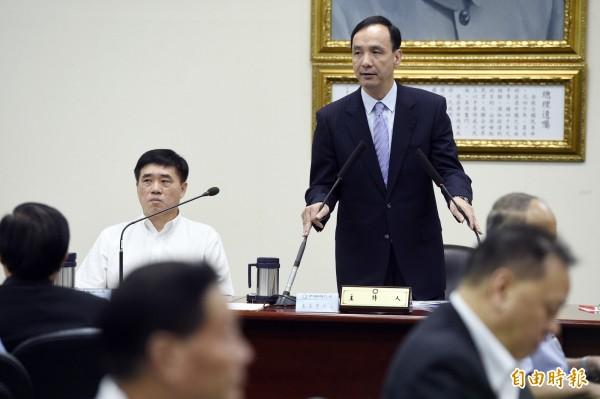 朱立倫估國民黨2016立委只有45席?(資料照,記者叢昌瑾攝)