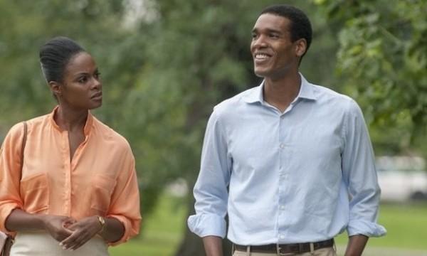 黑人男星帕克索耶(圖右)將飾演歐巴馬。(圖片擷取自衛報)