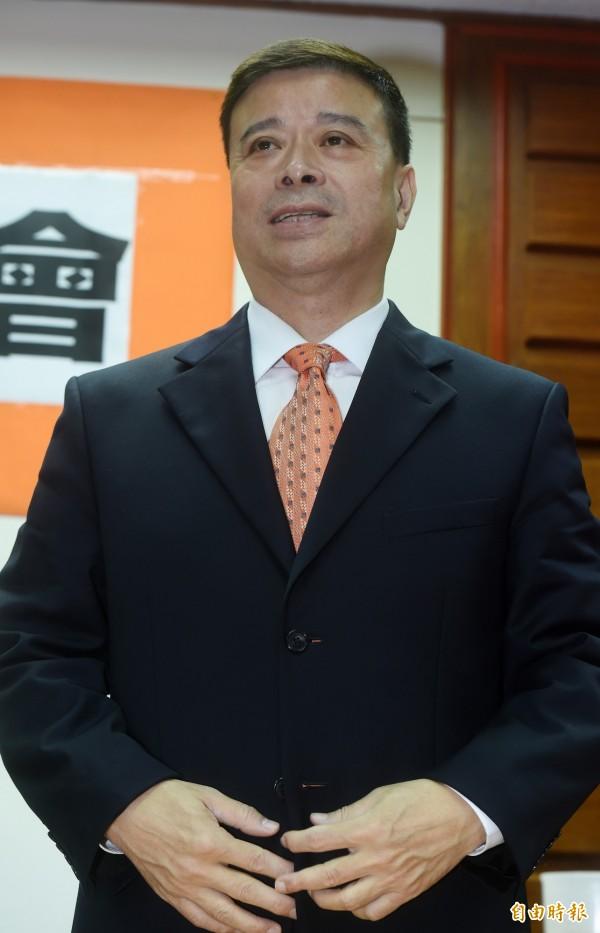 劉文雄今天表示,宋楚瑜幾乎就是要選總統了。(資料照,記者簡榮豐攝)