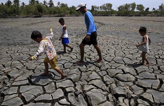 國外氣候專家指出,地球上半年均溫已創下最熱的紀錄。(圖擷取自theguardian)