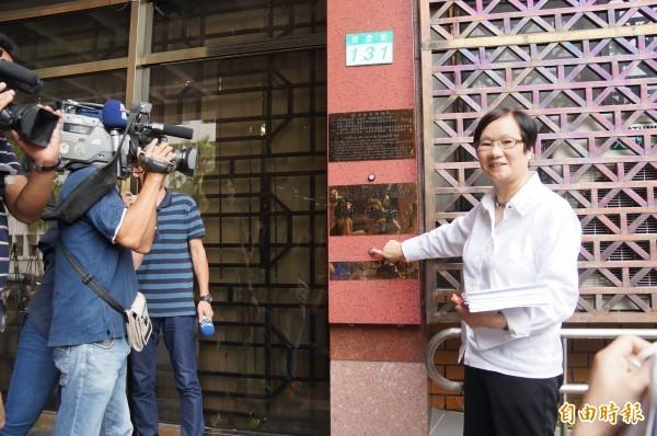 台北地檢署今證實是為了MG149案傳喚柯文哲,並指告發人羅淑蕾去年就是以「貪污治罪條例」等案由告發柯文哲。(資料照,記者錢利忠攝)