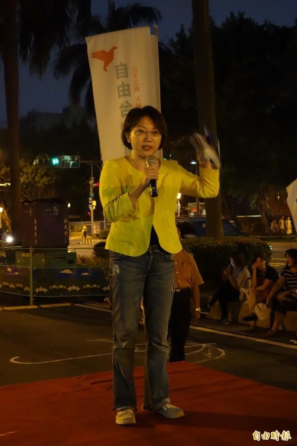 台灣大學社會系副教授范雲。(記者吳柏軒攝)