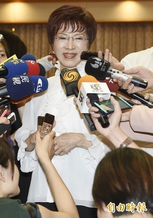 國民黨總統參選人洪秀柱。(資料照,記者陳志曲攝)