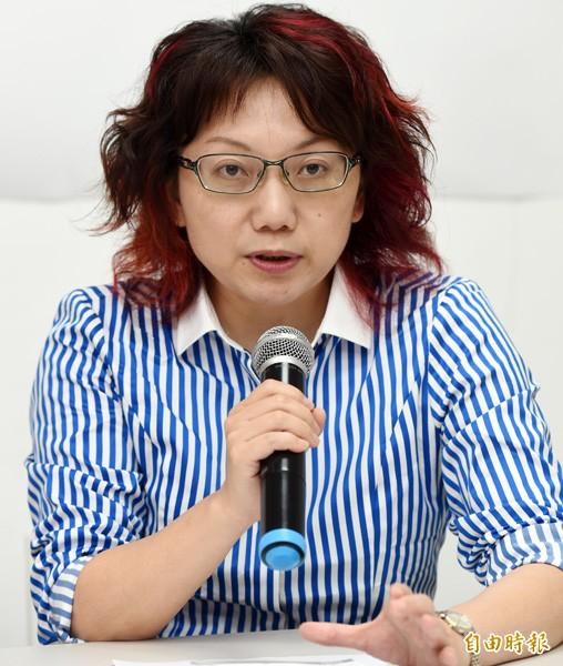 社民黨召集人范雲。(資料照,記者羅沛德攝)
