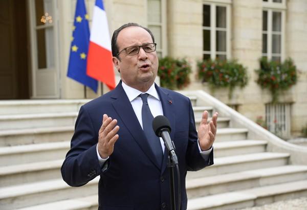法國總統歐蘭德。(法新社資料照)