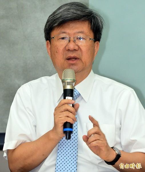 教育部長吳思華。(資料照,記者王藝菘攝)