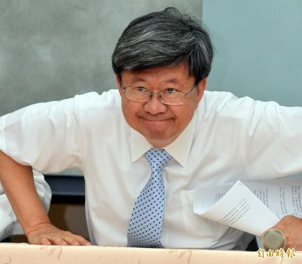 吳思華打算對闖入教務部的學生們提告(資料照,記者王藝菘攝)