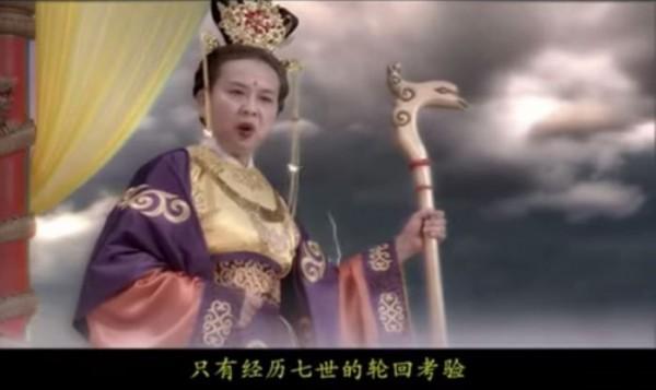 中國的泡麵廣告創意十足,將男女主角命名為「吃炒麵」和「喝靓湯」,展開一段超搞笑的七世輪迴之旅,其中主題曲超洗腦,不少網友說看完都會唱了。(圖擷取自YouTube影片)