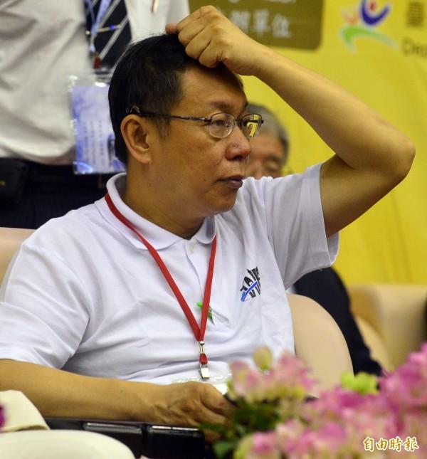 台北地檢署偵辦MG149案,台北市長柯文哲今天將首度以被告身分出庭。(資料照,記者王藝菘攝)
