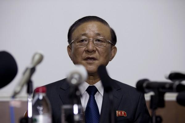 北韓駐中大使池在龍日前公開譴責,美國應要對無法重啟談話負責。(美聯社)