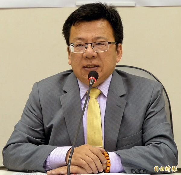 民進黨立委李俊俋。(資料照,記者林正堃攝)