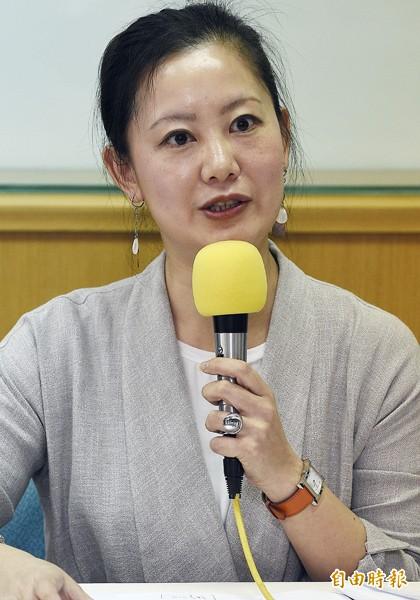 北市議會民進黨團總召吳思瑤。(資料照,記者陳志曲攝)