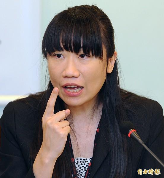台灣記者協會會長陳曉宜。(資料照,記者廖振輝攝)