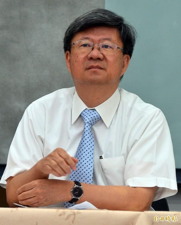 吳思華24日向4名立委表示,有學生在口供說,「記者是策畫者」。(資料照,記者王藝菘攝)
