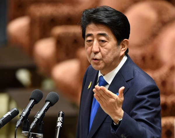 日本首相安倍晉三。(法新社資料照)