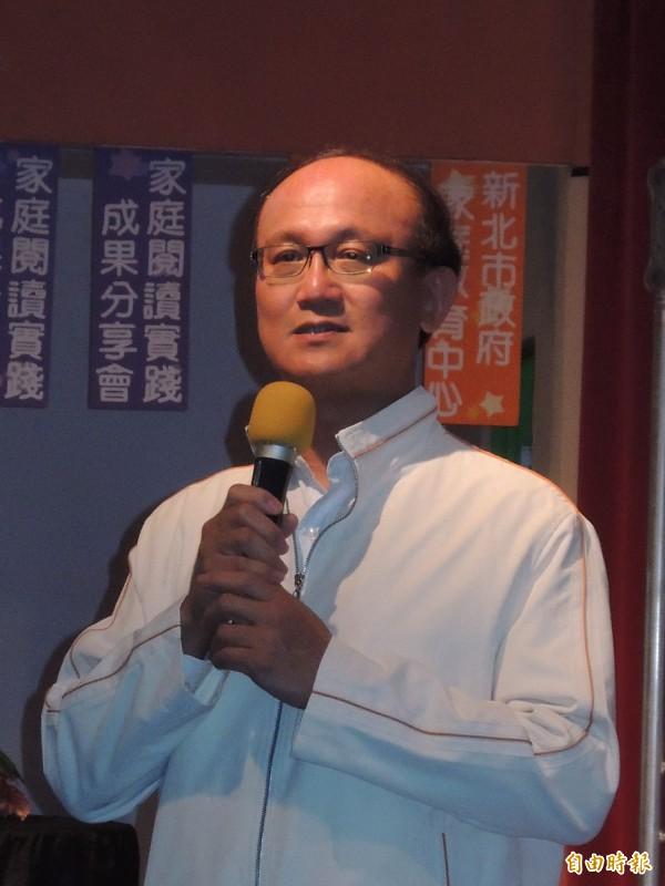 林騰蛟即將升為教育部次長。(資料照,記者翁聿煌攝)