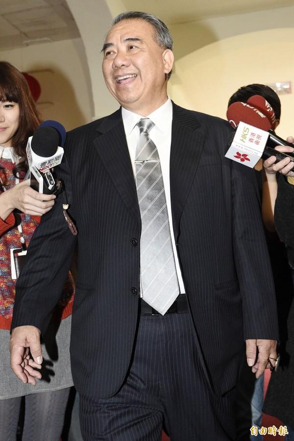 國民黨書記長廖國棟今早受訪表示,召開臨時會的內容應是國家所需、有急迫性法案,召開才有意義。(資料照,記者陳志曲攝)