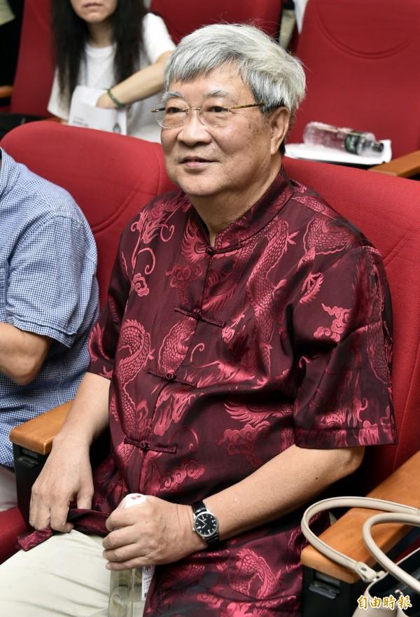 世新大學教授王曉波近來言論備受爭議。(資料照,記者陳奕全攝)