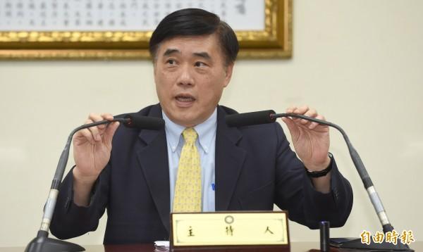 前台北市長郝龍斌對於今年雙城論壇確定舉辦,覺得很欣慰。(資料照,記者劉信德攝)
