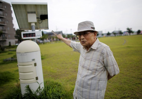 星野淳(見圖)與山田晃一樣,都認為人類其實無法控制核電,在確知風險的情況下也不應該重新啟動任何一座反應爐。他們都反對日本首相安倍晉三重新啟動福島核電的計畫。圖中為輻射監測儀器。(路透)