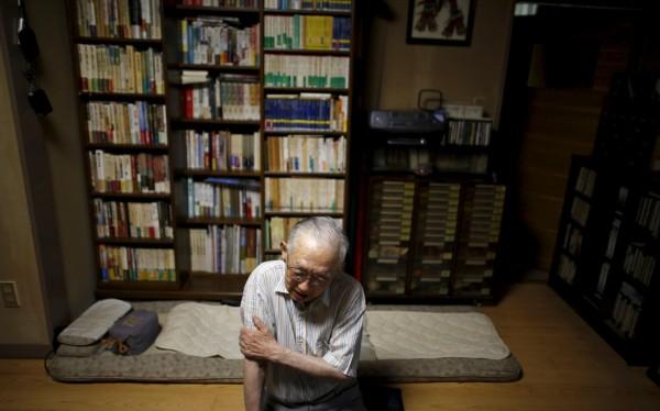 89歲的山田晃表示,做過研究的人都會知道,原爆的起因是日本對其他國家進行了侵略行動,但安倍顯然並未深入了解。(路透)