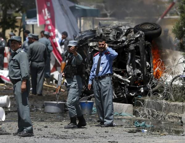 阿富汗當局進入高度戒備狀態。(路透)