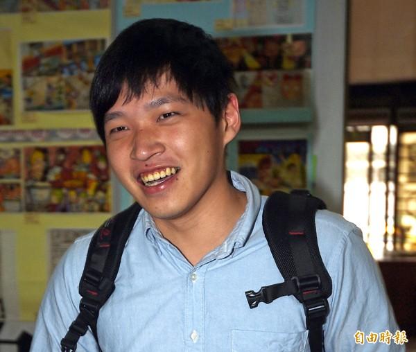太陽花學運領袖陳為廷。(資料照,記者王敏為攝)