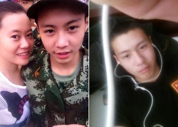 下個月才要滿18歲的四川籍消防隊員袁海,不幸在天津爆炸意外中殉職。(圖擷取自網路)
