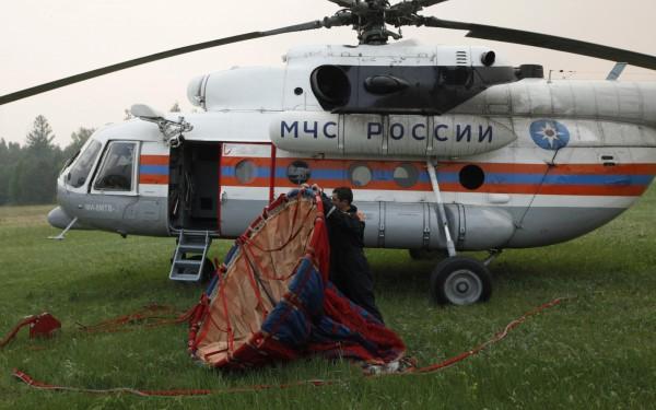 俄羅斯今下午驚傳有一架Mi-8直升機(同圖中機型,圖非事故飛機)墜毀在遠東地區伯力,機上16人中有6人死亡,10人獲救。(路透)