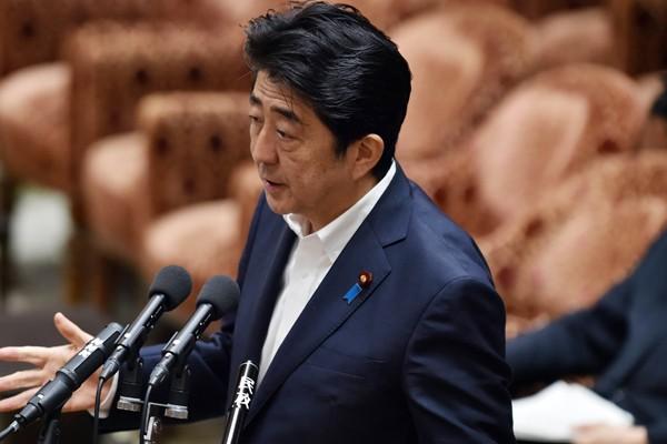 日本首相安倍晉三最近「友台」的程度,連日本專家都感到吃驚。(資料照,法新社)