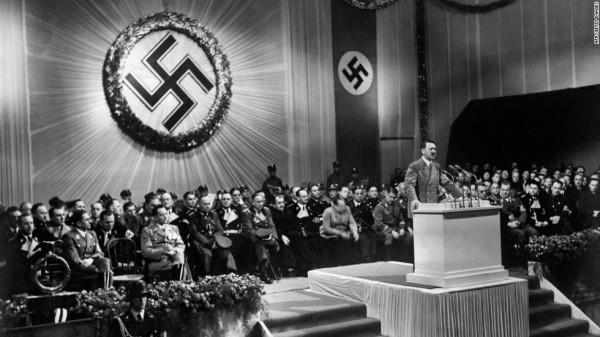 兩名男子聲稱找到納粹德國的藏寶列車。圖為二戰時期照片(圖片擷取自CNN)