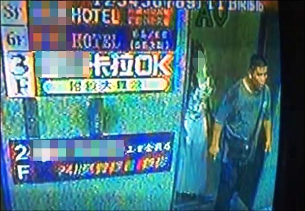 魏男與小如相約在三重區某間旅館碰面。(記者謝君臨翻攝)